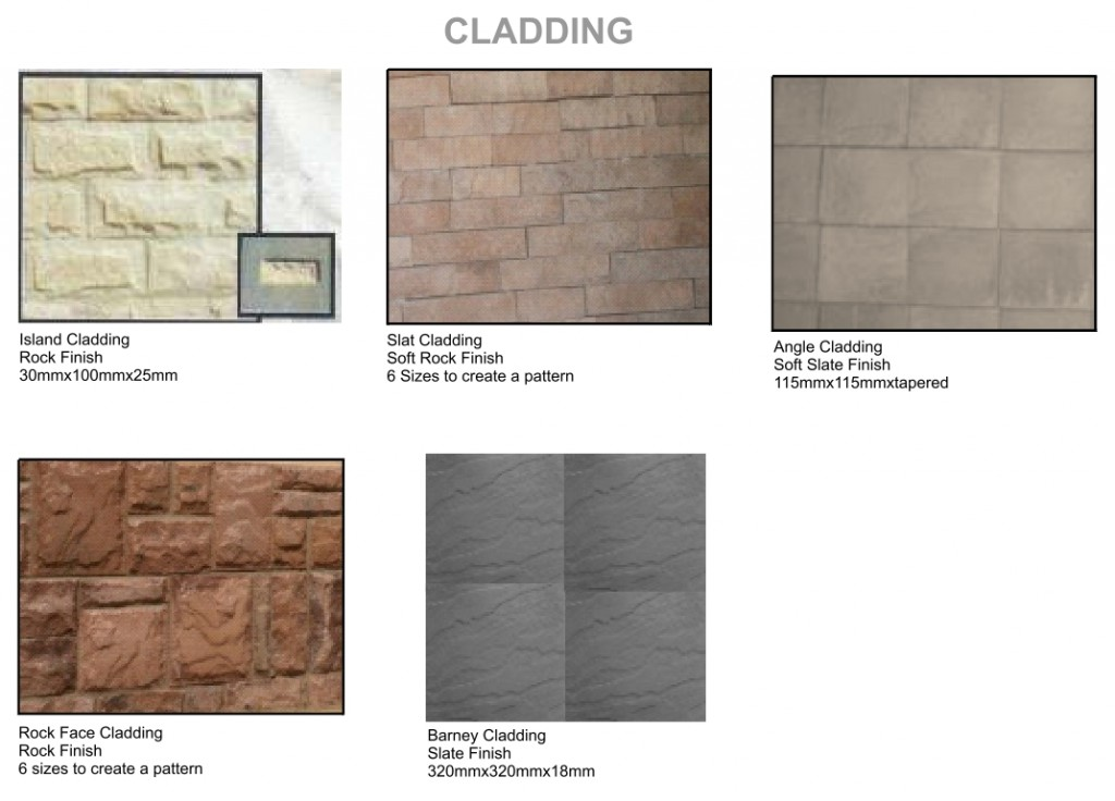 Arum cast stone cladding