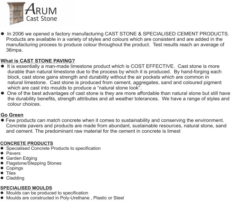 arum cast stone 3